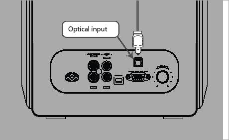 Optical input