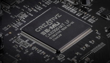 E-MU chipset for advanced effects processing