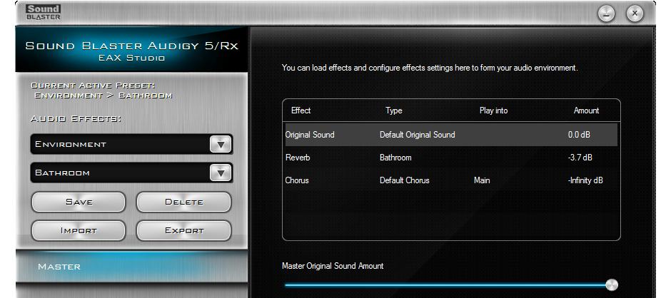 Fine-tune your EAX settings