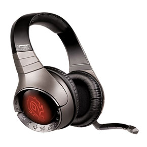 Creative Sound Blaster World of Warcraft Wireless Headset with Horde Artwork
