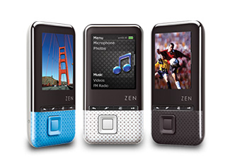 Creative ZEN Style Series of Portable Media Players