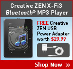 Creative ZEN X-Fi3 Bluetooth MP3 Player