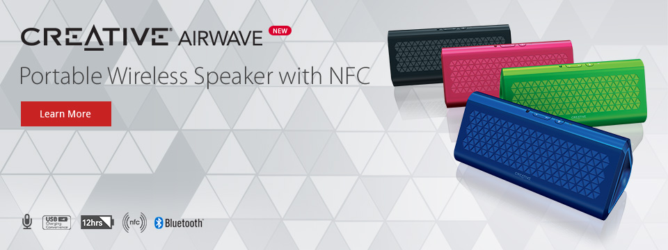 Simplify Your Wireless Audio Experience with Creative Airwave