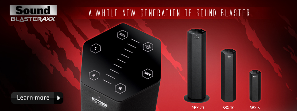 Creative Sound BlasterAxx - A Whole New Generation of Sound Blaster