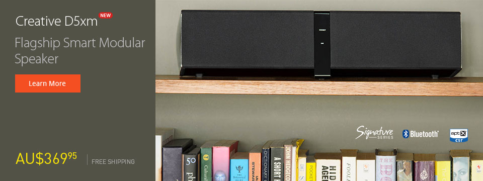 Creative D5xm - Flagship smart modular wireless speaker