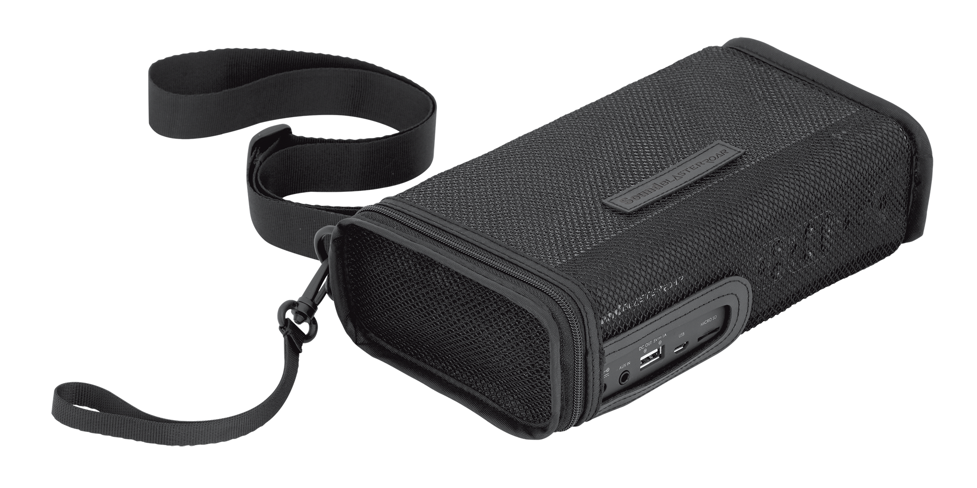 Myshop Lowepro Adventura Sh 120 Ii Black Sound Blaster Roar Carry Bag