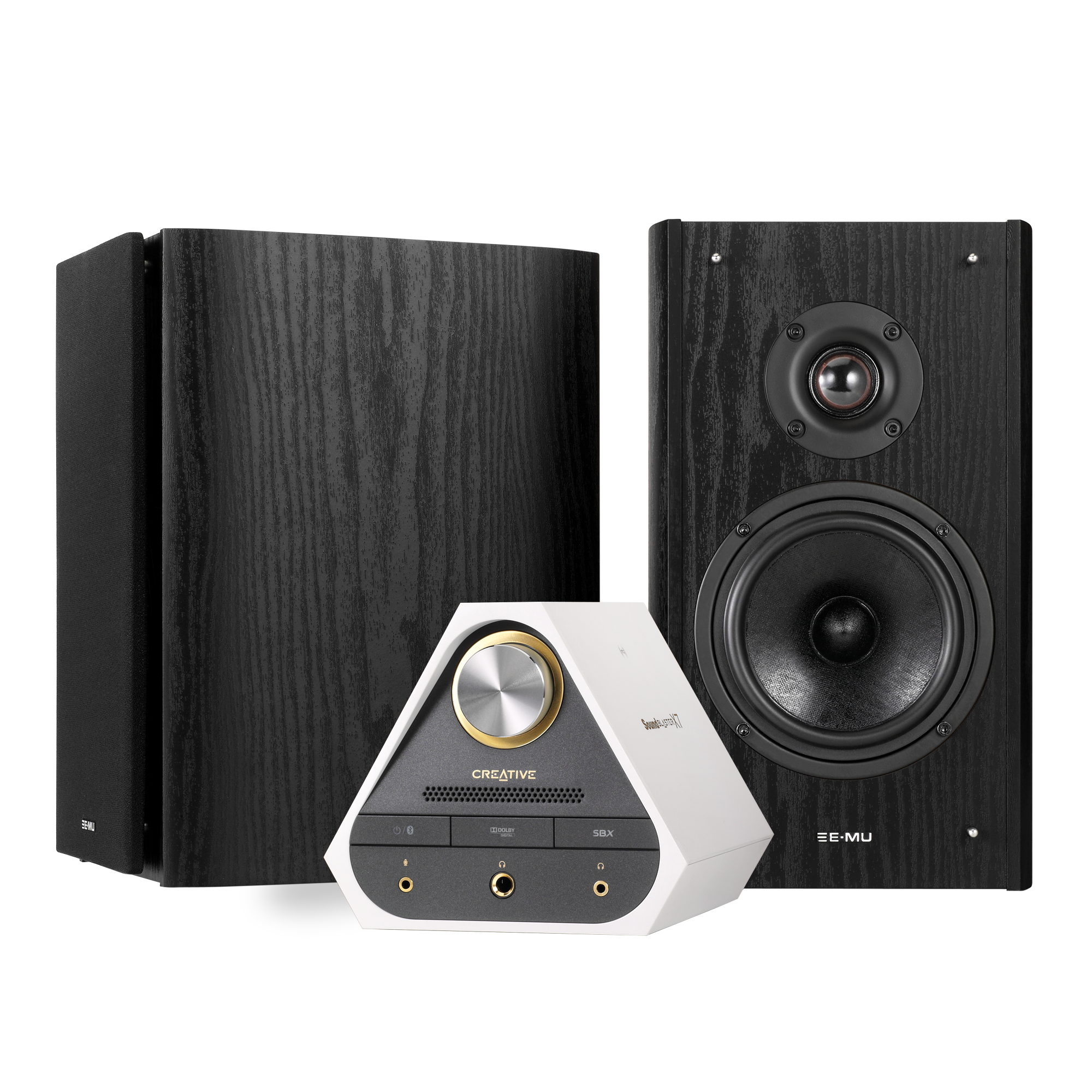Sound Blaster X7 Limited Edition Entertainment Bundle (Brown)