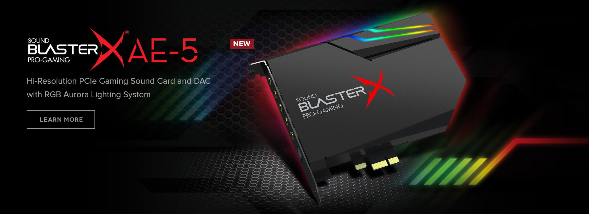 Sound Blaster Sound Cards, Gaming Headsets, Sound