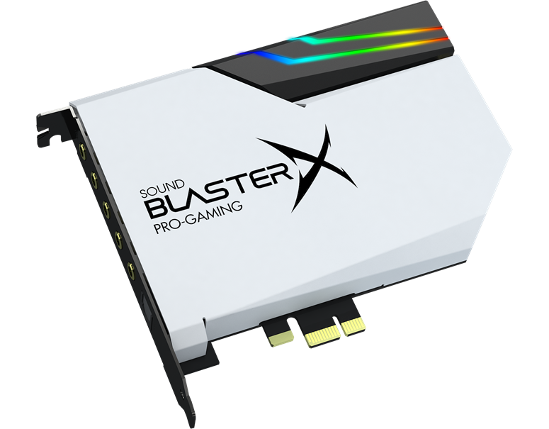 Sound BlasterX Pro-gaming Products | Clearer, Louder, Harder