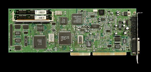 Sound Blaster AWE32 E MU 8000 APU 32 Voice Wavetable Synthesis