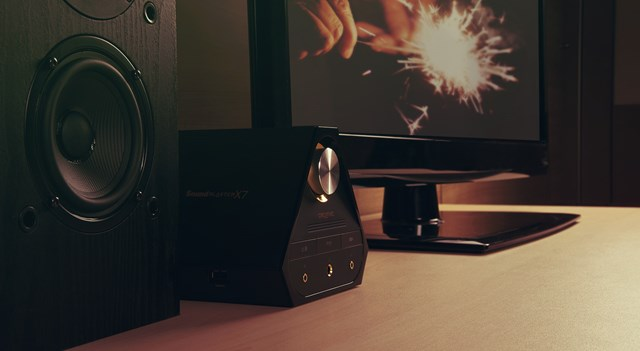 Sound Blaster X7, the most powerful and technologically